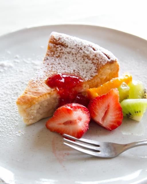 ケーキ一切れ
