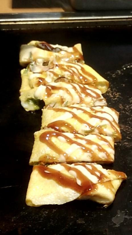 チーズ餅焼き