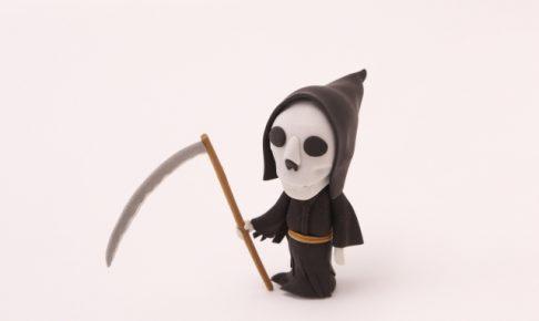 斧を持った骸骨