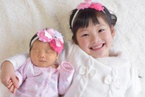 小さな姉妹